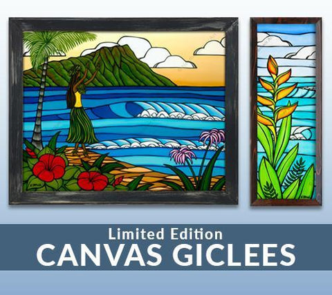 Limited Edition Giclée Prints on Canvas