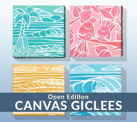 Open Edition Giclée Prints on Canvas