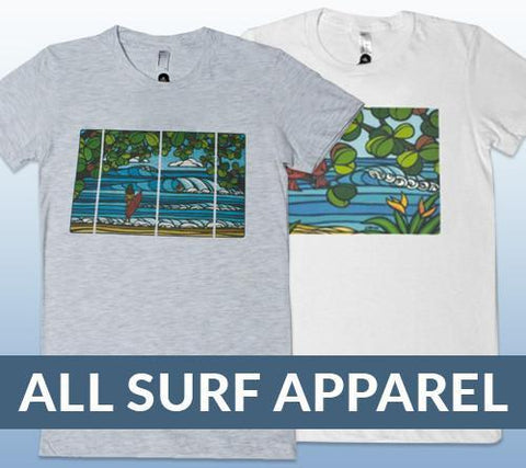 Heather Brown Surf Apparel for Men and Women