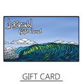 Fine Art Surf Gift Cards by Heather Brown