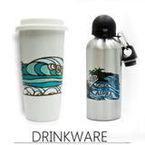 Fine Art Coffee Tumblers by Heather Brown