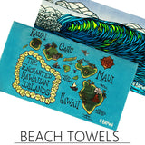 Fine Art Beach Towels by Heather Brown