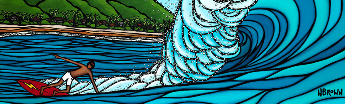 Heather Brown Art at the Haleiwa Arts Festival