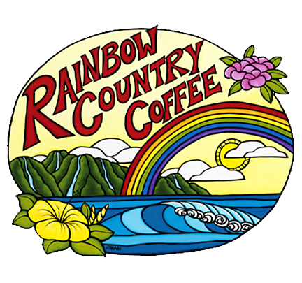 Rainbow Country Coffee Artwork