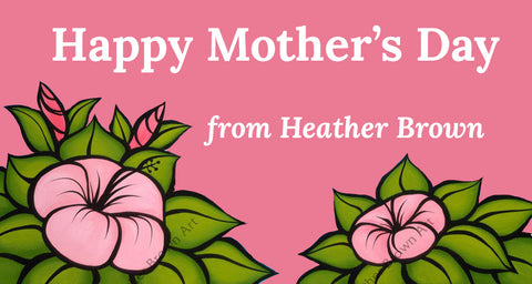 heather brown happy mothers day banner image