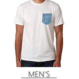 Shop Mens apparel with new surf clothing featuring paradise themed beach art by Heather Brown
