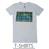 Beach Art Shirts by Hawaii artist Heather Brown