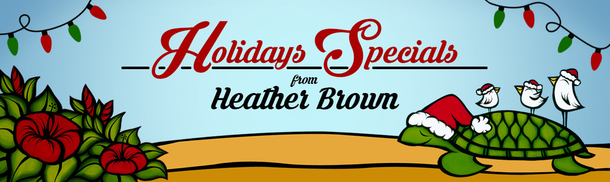 Heather Brown Christmas Holiday Deals!