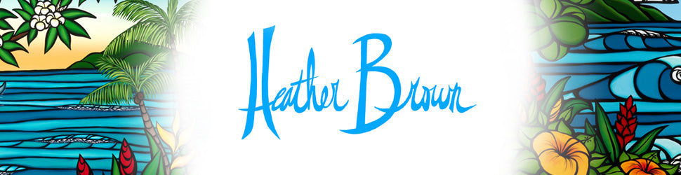 Heather Brown Art prides its self in community outreach efforts donating to charity organizations and community outreach programs
