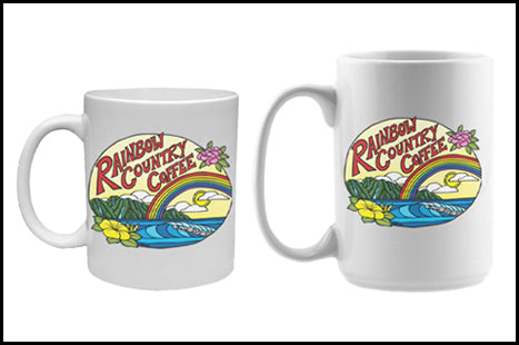 Rainbow Country Coffee Ceramic Mugs