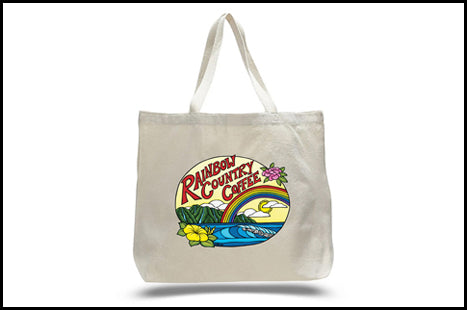 Rainbow Country Coffee Tote bags