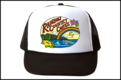 Rainbow Country Coffee Trucker Hats