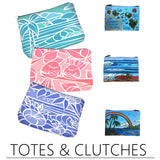 Fine Art Beach Clutches by Heather Brown
