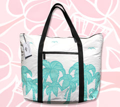 The ALOHA Collection Tote Bag with artwork by Hawaii Tropical Artist Heather Brown and created by ALOHA Collection and Kōkua Hawaiʻi Foundation