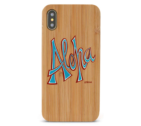 Aloha Bamboo iPhone 8/X Cases