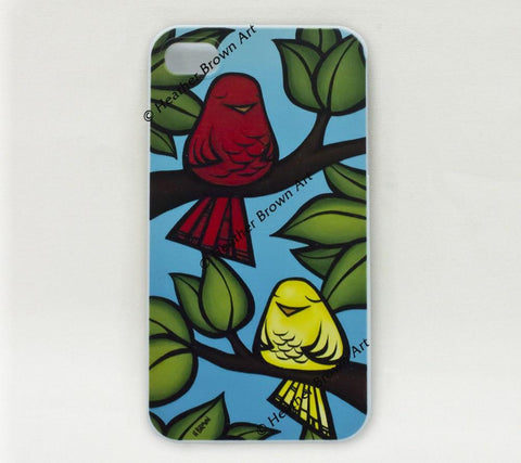 Bird Pals iPhone Case