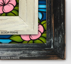Detail – Scoop and Square framing options
