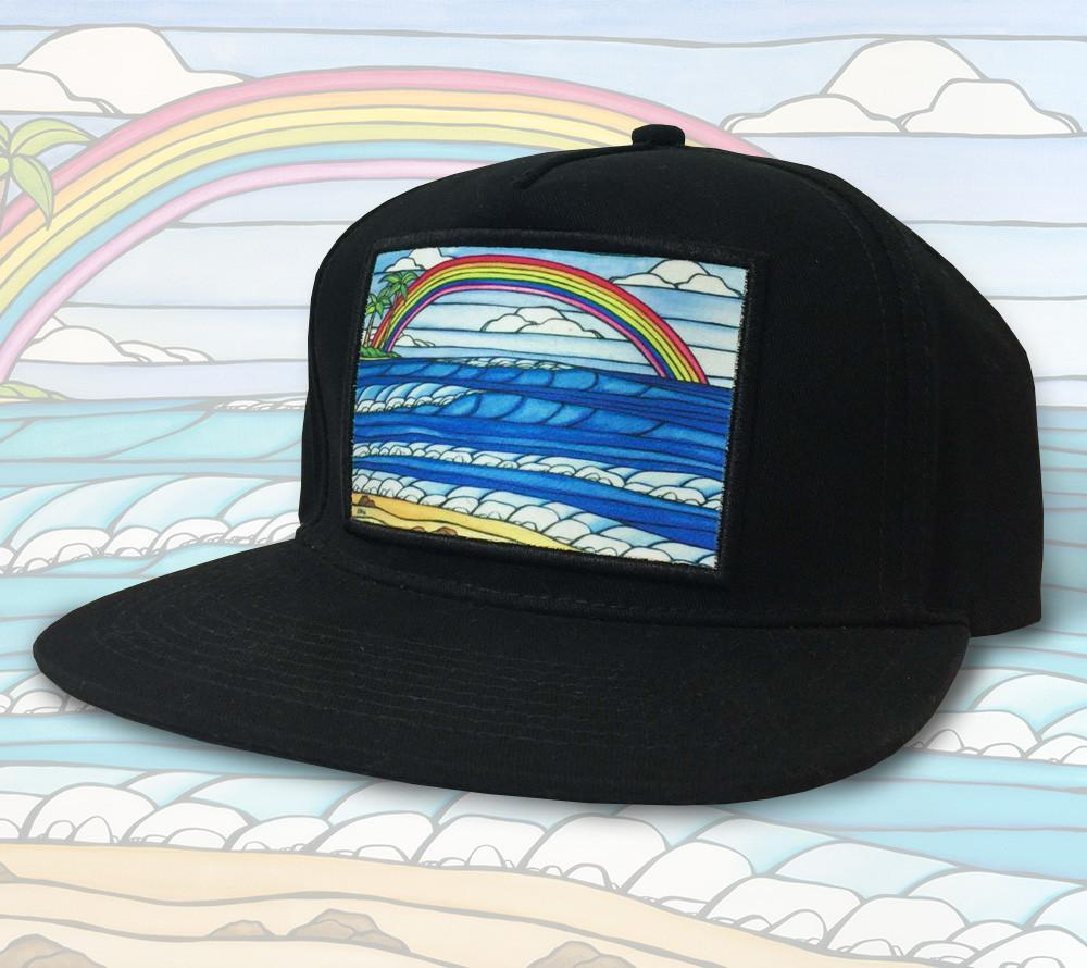 Daydream Rainbow Patch Hat by Heather Brown