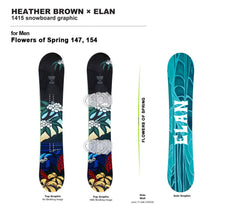 Flowers of Spring Snowboard