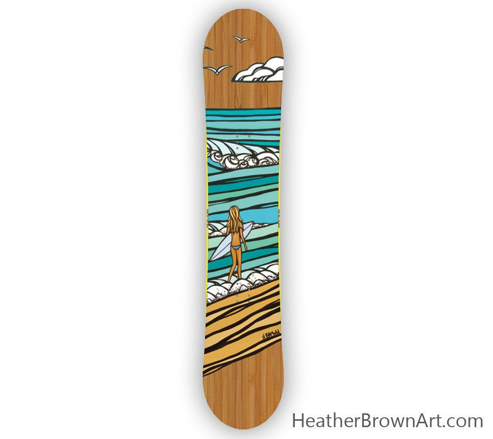 Gem of the Sea Snowboard