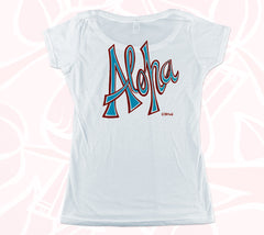Aloha Double-sided Women's Scoop Tee