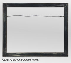 Classic Black, Canvas Giclée Frame by Heather Brown Art