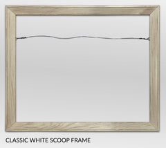 Classic White, Canvas Giclée Frame by Heather Brown Art