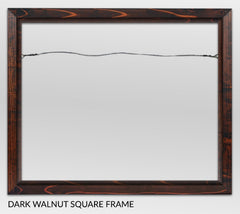 Dark Walnut, Canvas Giclée Frame by Heather Brown Art