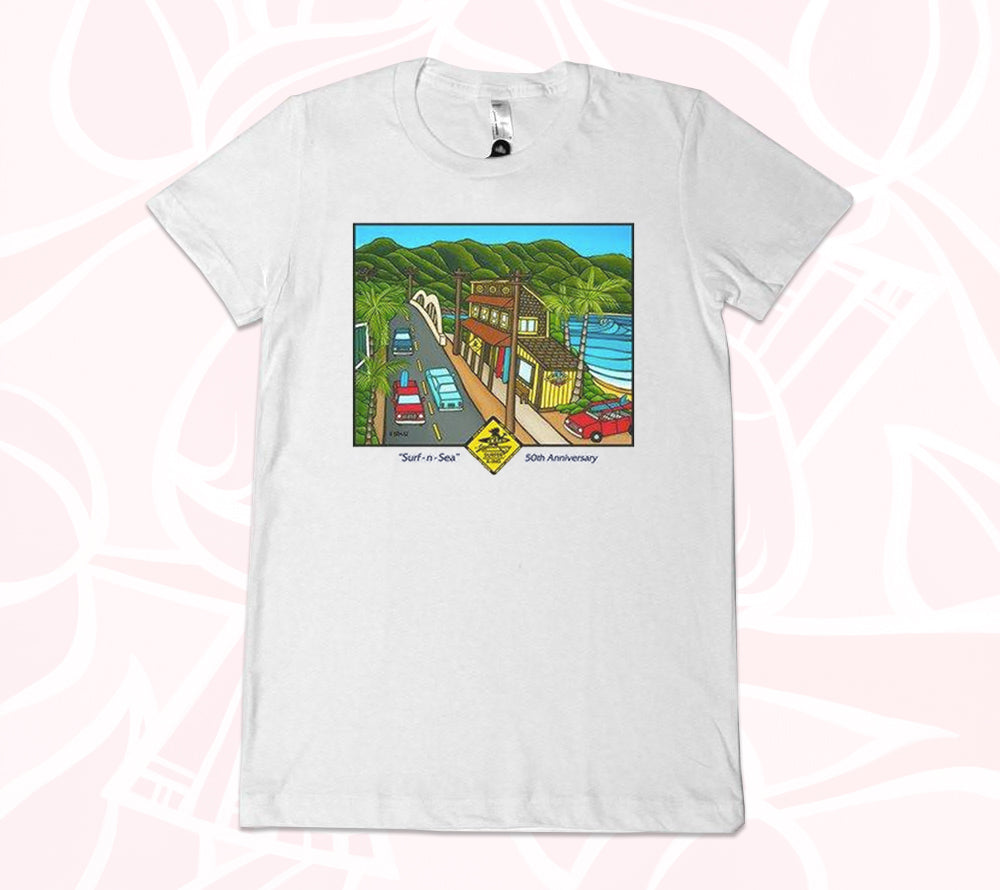 Surf N Sea Tee from Heather Brown Art