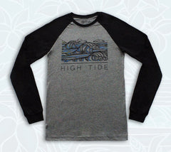 High Tide Apparel surf brand clothing by hawaiian artist Heather Brown