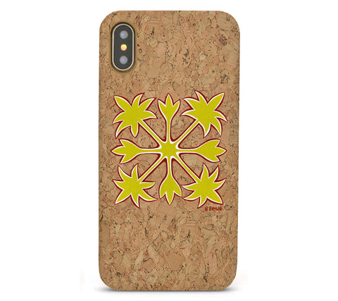 Hawaiian Quilt Cork iPhone 8/X/11 Cases