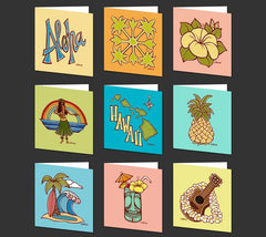 Tiki Mug Greeting Card
