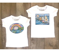 New Heather Brown Infant Tees