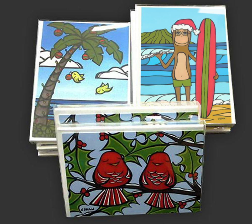 Heather Brown's Holiday Greeting Card Packs
