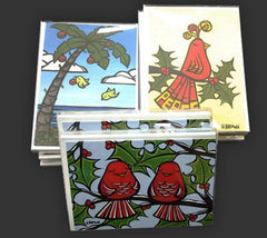 Christmas Surf (greeting card)