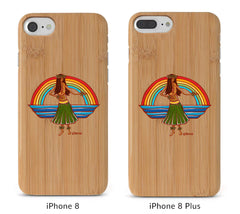 Hula Bamboo iPhone 8/X Cases