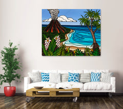 Large scale canvas print (not stretched - ships rolled in a tube)