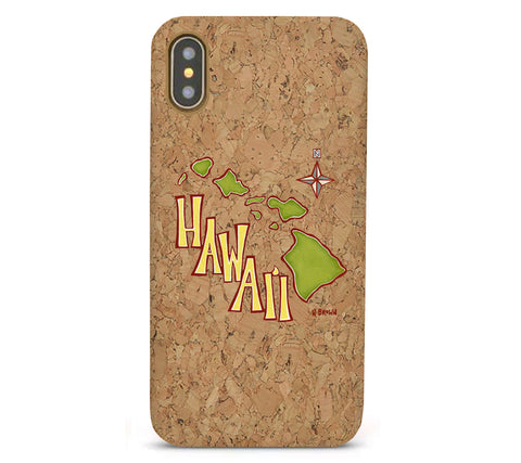 Island Map Cork iPhone 8/X/11 Cases