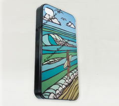 Detail - Jewel of the Sea iPhone Case by Heather Brown