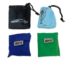 Surfer Girl Reusable Drawstring Bag