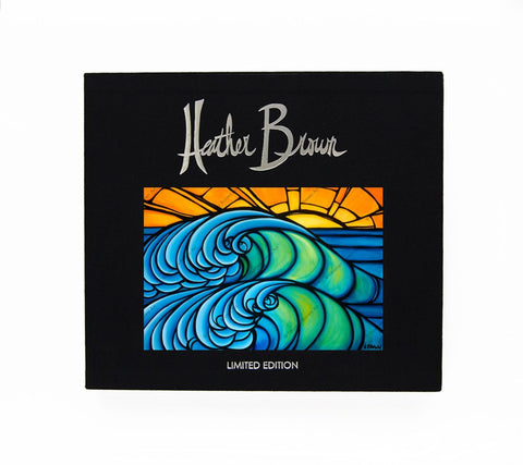 The Art of Heather Brown (North Shore Wave, Limited Edition Book)