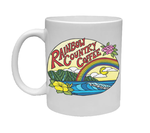 Rainbow Country Coffee Ceramic Mug
