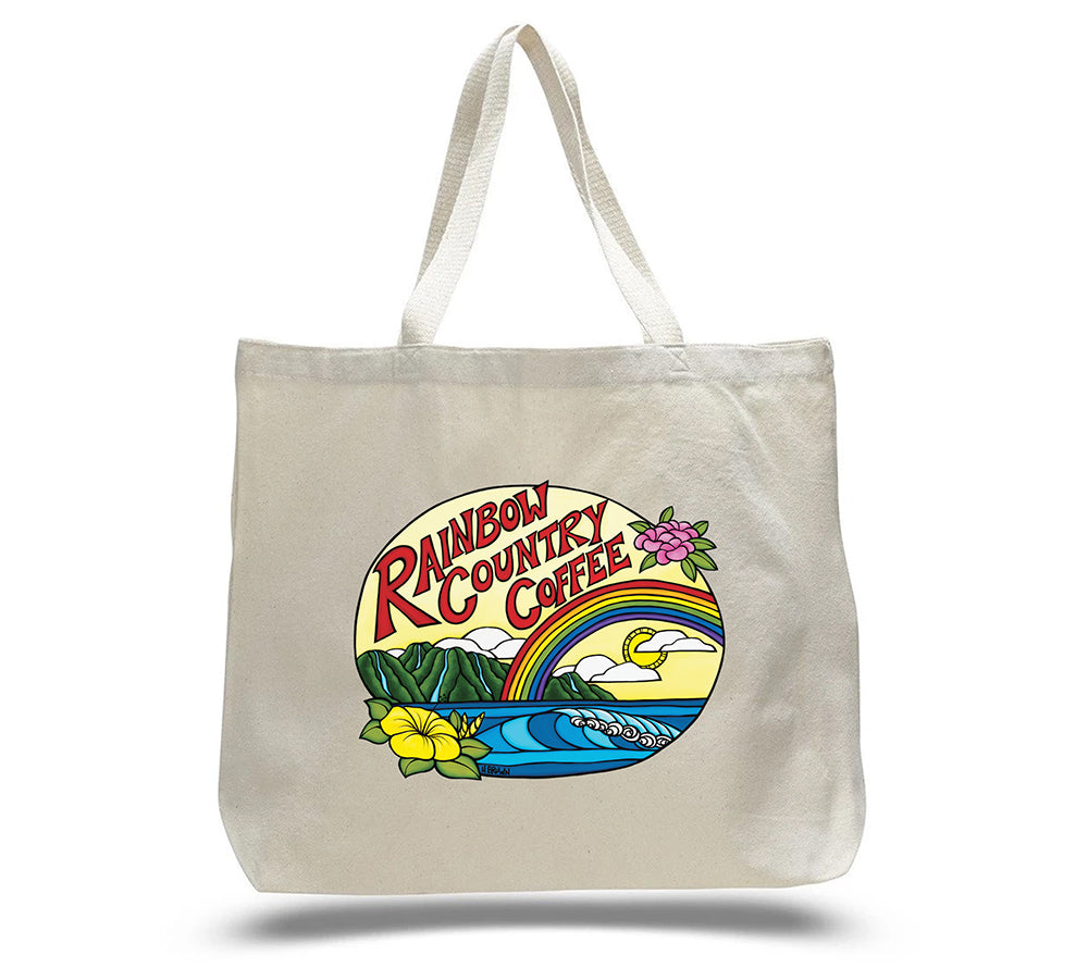 Rainbow Country Coffee Tote Bag