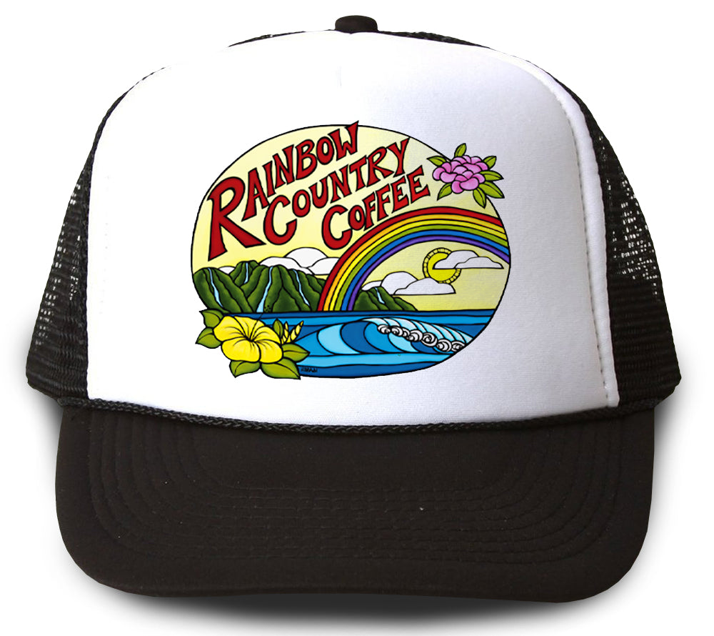 Rainbow Country Coffee Trucker Hat