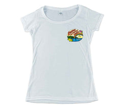 Rainbow Country Coffee Double-sided Women's Scoop Tee