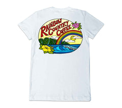 Rainbow Country Coffee Double-sided Women's Tee