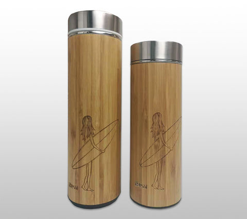 Surfer Girl Bamboo Mug