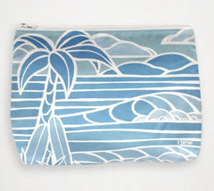 Shades of Hawai'i #1Travel Clutch similar to Samudra Bag by Heather Brown Art