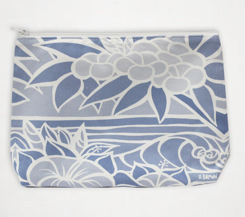 Shades of Hawai'i #7 Travel Clutch similar to Samudra Bag by Heather Brown Art