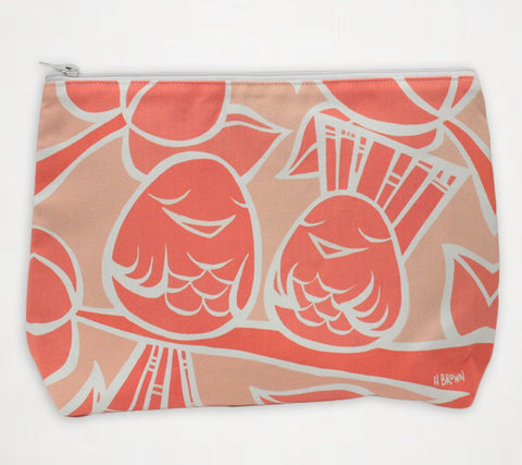 Shades of Hawai'i #4 Travel Clutch - Travel Clutch similar to Samudra Bag by Heather Brown Art